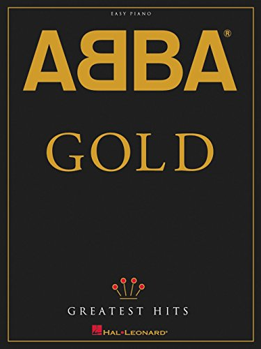 - Hal Leonard ABBA - Gold Greatest Hits For Easy Piano