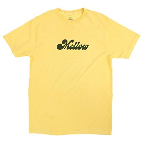 f18aa1cb4 Altru Apparel Mellow Yellow Mens Yellow Graphic tee Shirt