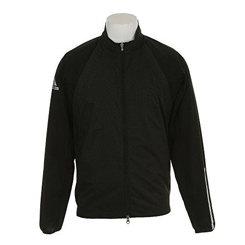アディダス Adidas アウター(ブルゾン、ウインド、ジャケット) 2WAY ストレッチ CP ディタッチャブル 長袖フルジップウインドジャケット ブラック O