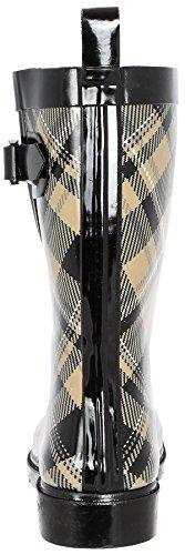 Mid Capelli Warm York Two Boot Rain Calf New Tone Rubber Sand Ladies XXFw1p
