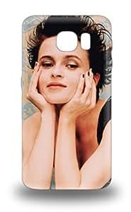 Rugged Skin 3D PC Case Cover For Galaxy S6 Eco Friendly Packaging Helena Bonham Carter English Female A Room With A View Fight Club ( Custom Picture iPhone 6, iPhone 6 PLUS, iPhone 5, iPhone 5S, iPhone 5C, iPhone 4, iPhone 4S,Galaxy S6,Galaxy S5,Galaxy S4,Galaxy S3,Note 3,iPad Mini-Mini 2,iPad Air )
