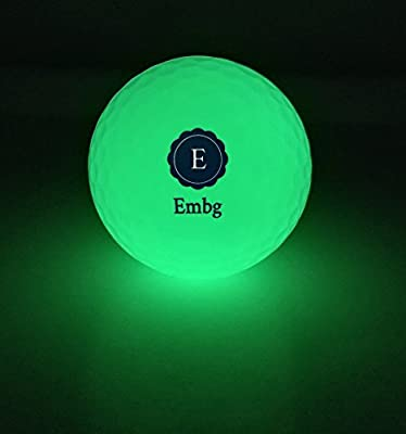 Night Golf Ball: Glow in the Dark, Luminous, Long Lasting, Reusable, Bright, Sunlight Recharges