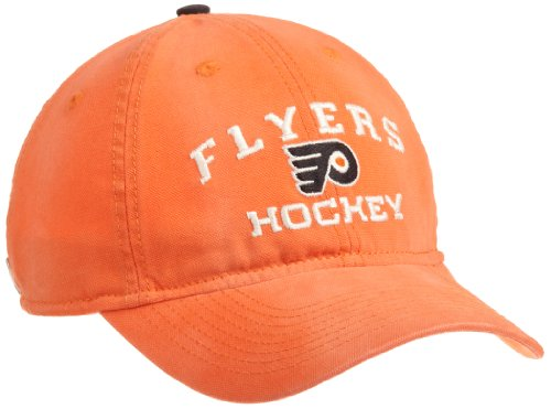 (NHL Official Team Slouch Adjustable Cap, Philadelphia Flyers, One Size Fits All)
