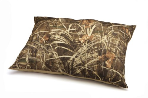 Dallas Manufacturing Co. Weatherproof Camoflauge and Khaki Pet Bed, 30-Inch-by-40-Inch