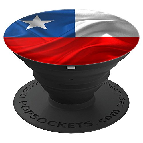 Chili Flag, Chilean Soccer, Country, National Sports - PopSockets Grip and Stand for Phones and Tablets
