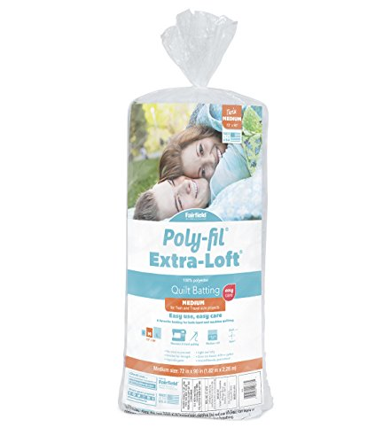 - Fairfield Poly-Fil Extra-Loft Polyester Quilt, 72