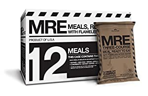 5. Meals Kit Supply: Meal Kit Supply Premium Fresh MREs Meal with Heaters 12 pack