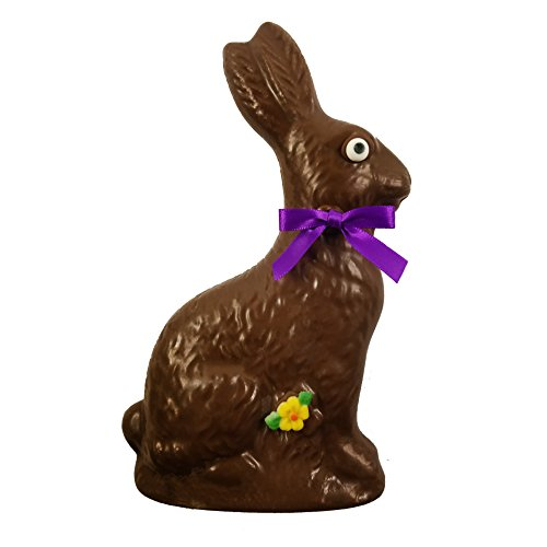 Large Milk Chocolate Bunny - Chocolate for Kids - Perfect Gift by Sugar Plum Chocolates