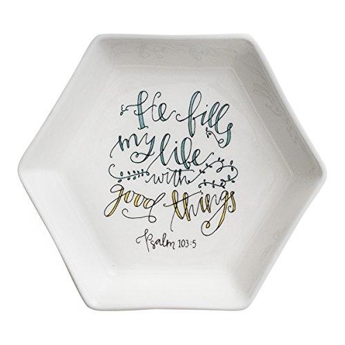 Dayspring Inspirational Fills My Life Trinket Dish With