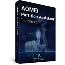 AOMEI Partition Assistant Technician - Latest Version - Digital Delivery