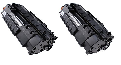Generic Compatible Toner Cartridge Replacement for HP Q7553A ( 2-Pack )
