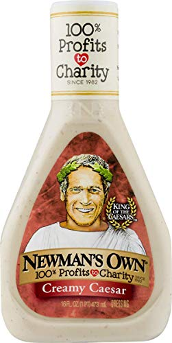 Newmans Own Creamy - Newman's Own Creamy Caesar Salad Dressing, 16-oz. (Pack of 6)