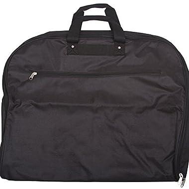 World Traveler 40 Inch Hanging Garment Bag, Black, One Size