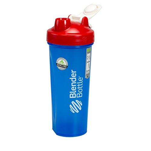 BlenderBottle Full Color Bottle - All American Colors with Shaker Ball - Red, White, and Blue - 32oz by Blender Bottle (Image #1)