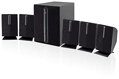 GPX HT050B 5.1 Channel Home Theater Speaker System (Black) from DPI