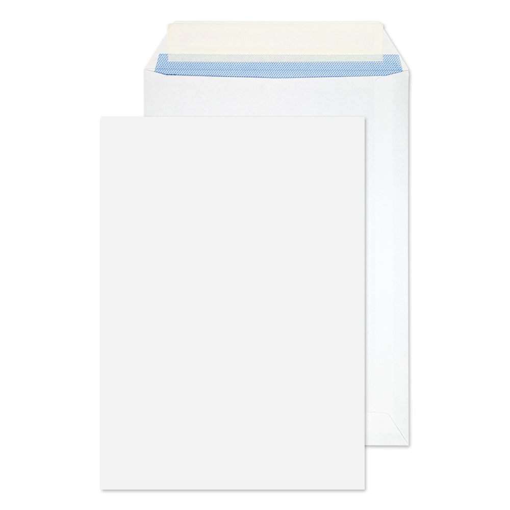 Purely Everyday C5 229 x 162 mm 100 gsm Pocket Peel And Seal Envelope - White (Pack of 500) Blake 11893PS