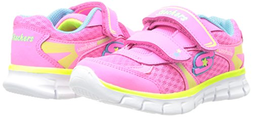 Néon Mode Baskets Synergy Skechers Multicolore Rose Softy nbsp;Lil Fille Multi wqx0SI