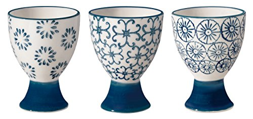 Bloomingville Egg Cups Kristina Set of 3 Styles