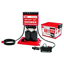 Zodi Outback Gear Hot Tap HP Instant Shower, Red