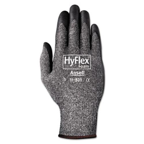 AnsellPro HyFlex泡グローブ、ダークグレー/ブラック、サイズ10、12ペア  B00H4ZZY78