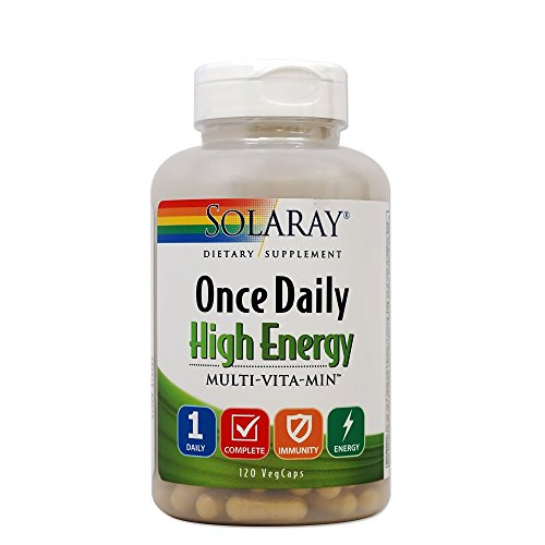 igh Energy Multi-Vita-min Veg Capsules, 120 Count (Energy Multivitamin 120 Capsule)
