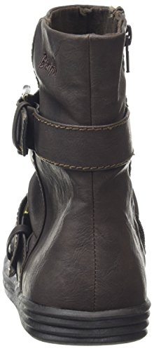 Blowfish Damen Ranuka Biker Boots Brown (Dk Brown)