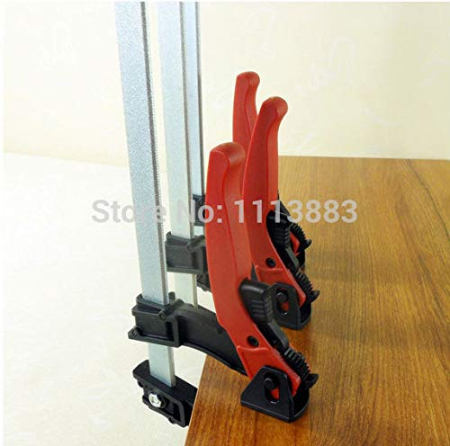 Ochoos SET of 4PCS 250mm Rapid Action Lever Clamp Woodworking by Ochoos (Image #3)