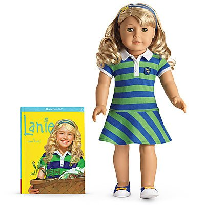 American Girl of the Year 2010 Lanie Doll and Paperback Book by American Girl