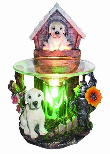 EcoScents Retrievers Aroma Lamp, Multiple - Glass Potpourri Oil Warmer