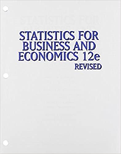 Statistics for business economics revised loose leaf version statistics for business economics revised loose leaf version david r anderson dennis j sweeney thomas a williams jeffrey d camm fandeluxe