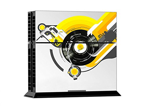 Price comparison product image Mod Freakz Console and Controller Vinyl Skin Set - Disk Turn Table Dj for Playstation 4