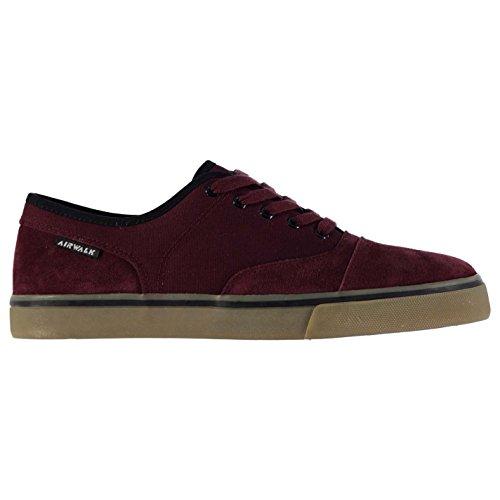 Airwalk sneaker skate scarpe uomo rosso tempo sneakers calzature