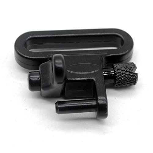 1 Pair Sling Swivels 1 Inch Heavy Duty 300 LB Quick Detach for Hunting Rifle Sling by Trirock (Image #8)