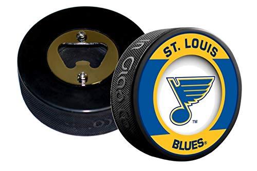 EBINGERS PLACE St Louis Blues NHL Retro Series Hockey Puck Bottle Opener (Bottle Opener Retro)