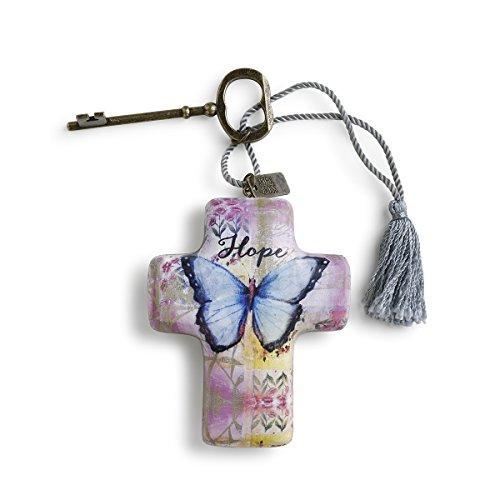 Demdaco Hope Butterfly Artful Cross