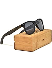 Ebony Wood Sunglasses For Men & Women with Polarized Lenses GOWOOD Canadian
