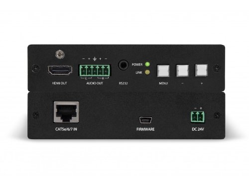 Rs 232 Wall Plate - Atlona Technologies AT-HDVS-RX HDBaseT to HDMI Extender/Scalar