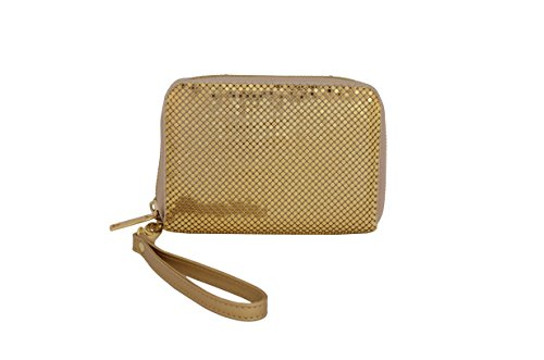 UPC 604541226730, Whiting & Davis Women's Smartphone Wallet, Gold, One Size
