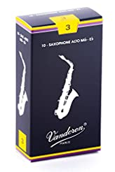 Vandoren SR213 Alto Sax Traditional Reed...