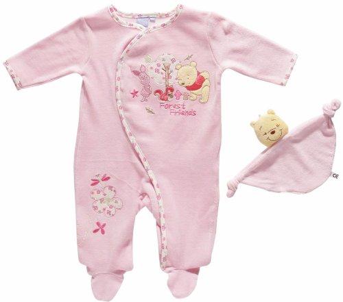 1a47726b1a895 Winnie l ourson -Dors bien bébé fille avec son doudou disney baby rose  3mois  Amazon.fr  Bébés   Puériculture