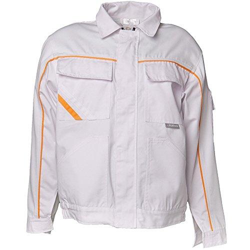 Planam 2317062 Highline Blouson de travail Taille 62 en Blanc/Jaune