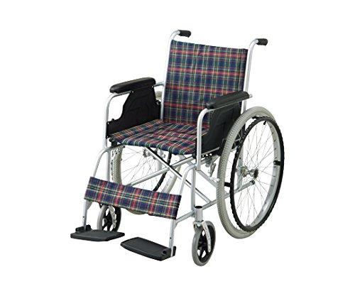 【非課税】アズワン 車椅子(アルミ製) NWC-100A /8-5950-01 B00SUGSWAG