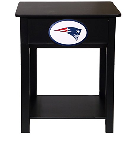 Fan Creations N0533-NEP New England Patriots Nightstand/Side Table by Fan Creations