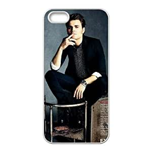 YUAHS(TM) Cover Case for Iphone 5,5S with Paul Wesley YAS371472
