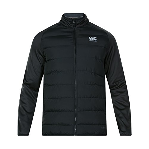 Canterbury of New Zealand Thermoreg Hybrid Chaqueta, Hombre negro