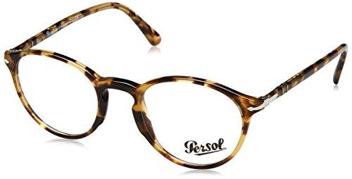 Persol Men's PO3174V Eyeglasses Brown/Beige Tortoise ()
