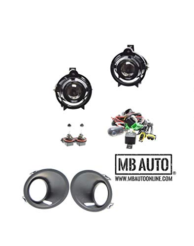 MB Auto Fog Lights Lamp Kit OEM Replacement for Chevy Camaro 10335108