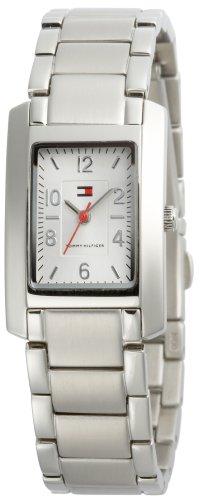 (Tommy Hilfiger Women's 1780698 Silver-Tone Bracelet Watch)