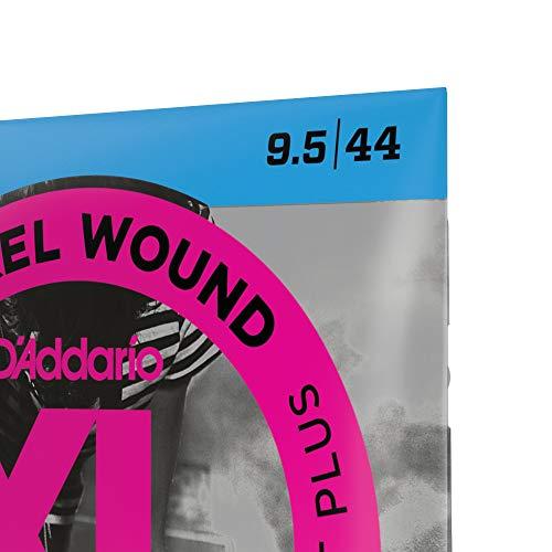 D'Addario EXL120+ Nickel Wound Electric Guitar Strings, Super Light Plus, 9.5-44