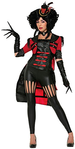 (Forum Novelties Women's Twisted Attraction Deluxe Lion Tamer Costume, Multi,)